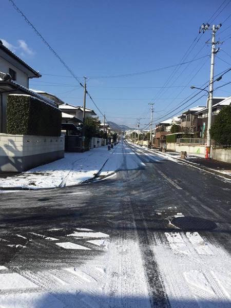 雪のしらさぎ台
