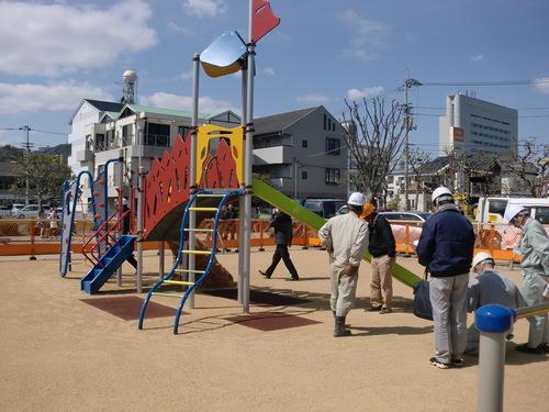 北川公園遊具設置工事