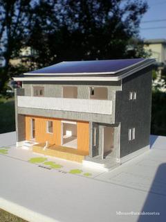 M様邸模型