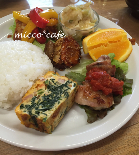 micco*cafe ランチ