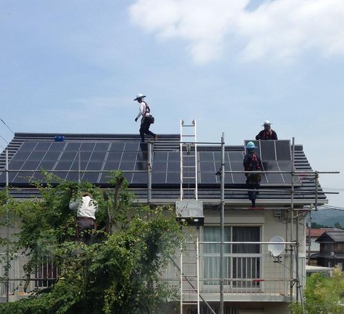 アラタ建設 太陽光パネル交換工事